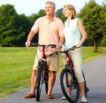HealthyAging2012oldcouplewithbikesICON